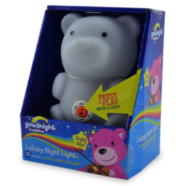 Bear Buddy Lullaby Night Light
