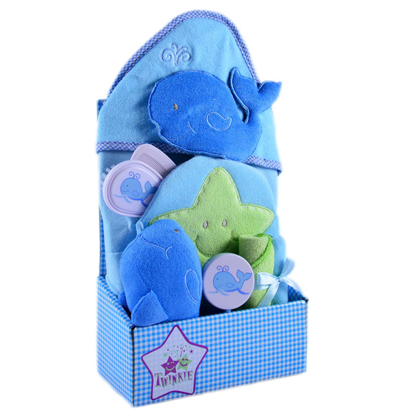 Baby Bath Gift Set Whale