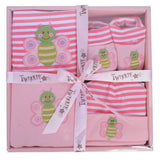 Pink Butterfly Gift Set