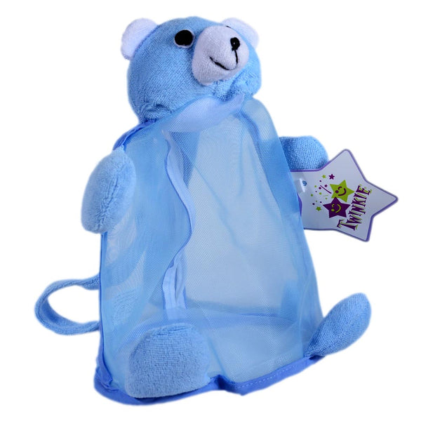 Blue Bear Shower Set