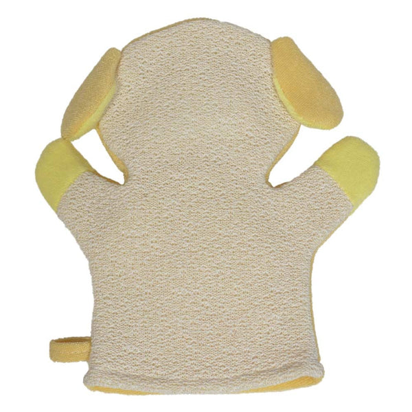 Animal Design Shower Mitt with Scrubber