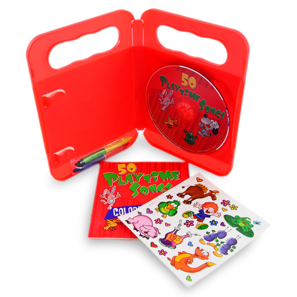 50 Playtime Songs- CD & Activity Kit