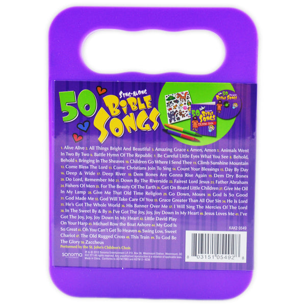 50 Bible Songs (2)- CD & Activity Kit