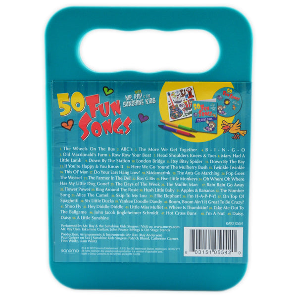 50 Fun Songs- CD & Activity Kit