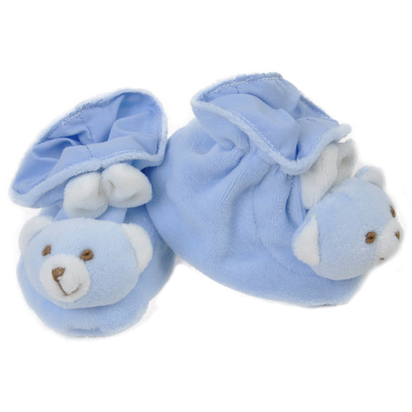 Blue Baby Bear Booties at Twinkie
