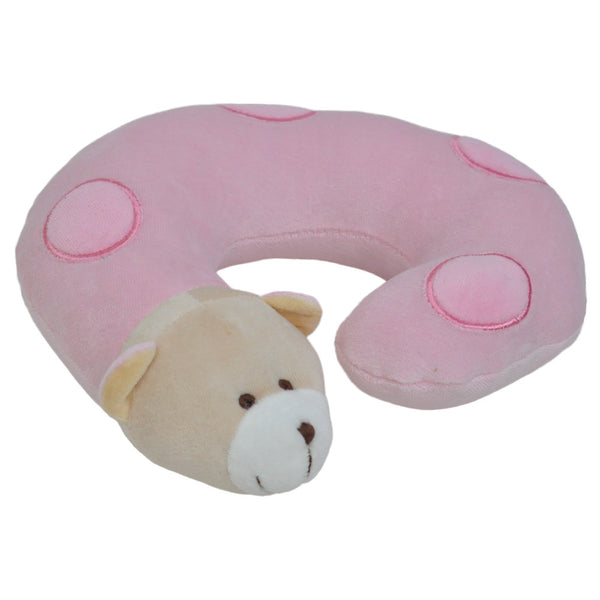 Twinkie Pink Bear Neck Pillow