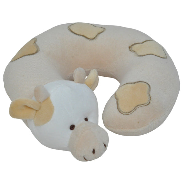 Twinkie Beige Cow Neck Pillow