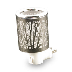 Silver Forest Night Light