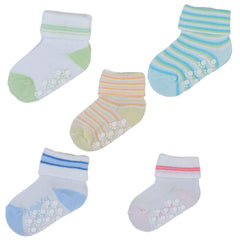 5 Pairs Mixed Classic Ankle Socks