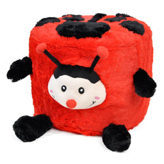 Twinkie Ladybug Plushy Puff - Inflatable Stool