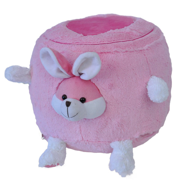 Twinkie Bunny Plushy Puff - Inflatable Stool