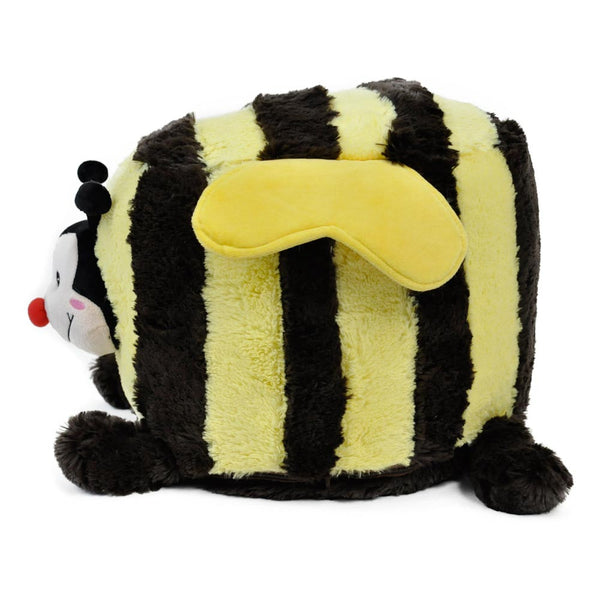 Fuzzy Bee Inflatable Stool - Twinkie - Side View