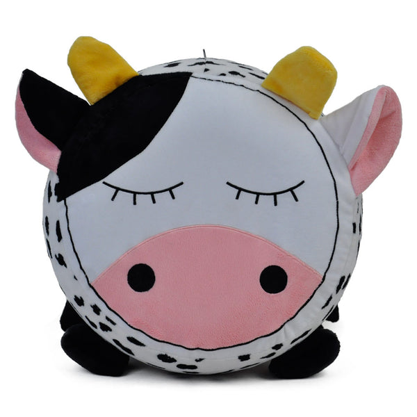 Twinkie Cow Plushy Puff - Inflatable Stool