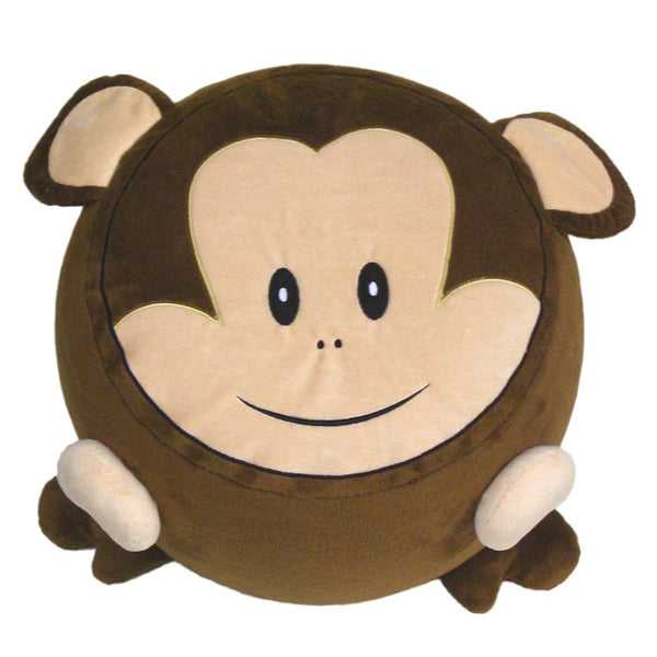 Twinkie Monkey Plushy Puff - Inflatable Stool