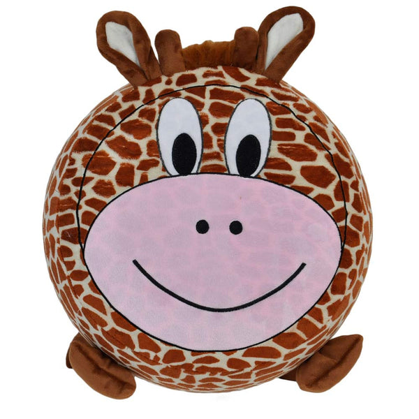Twinkie Giraffe Plushy Puff - Inflatable Stool