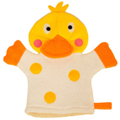 Duck Design Shower Mitt