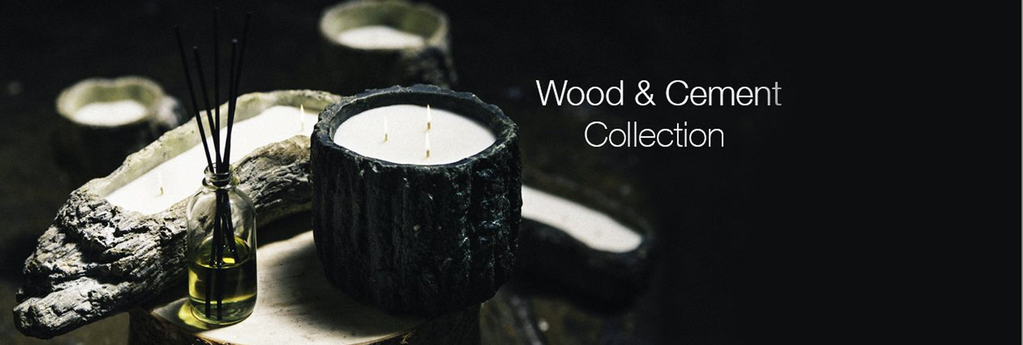 Wood & Cement Collection