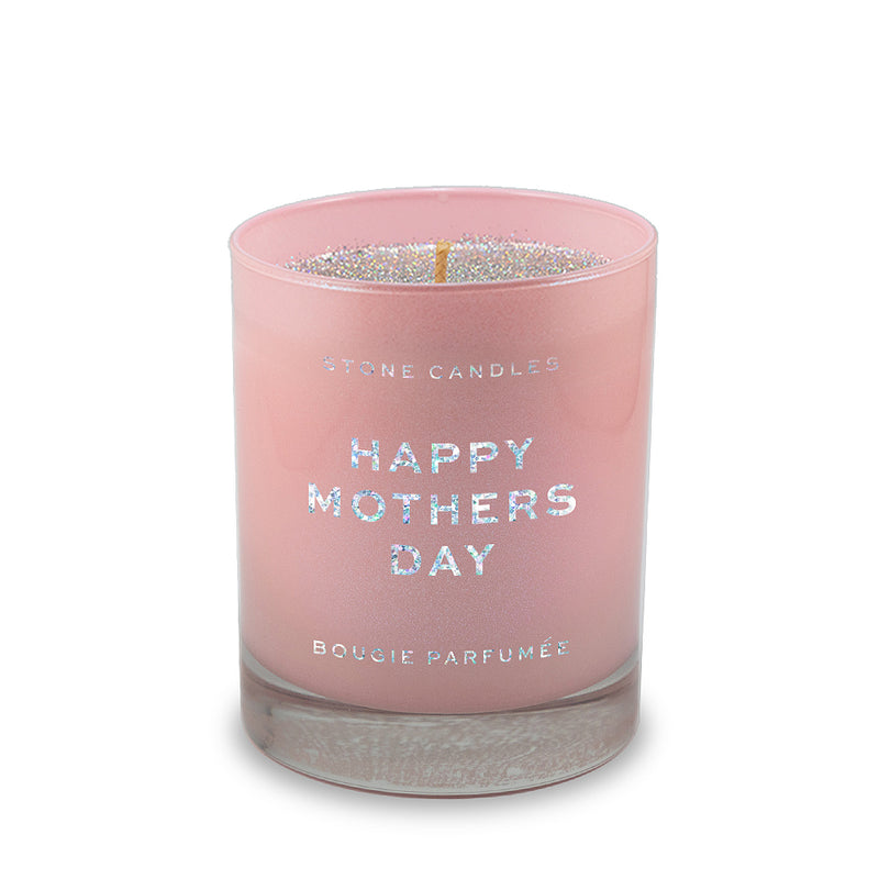Mother's Day Glitter Candle - Happy Mothers Day 11oz