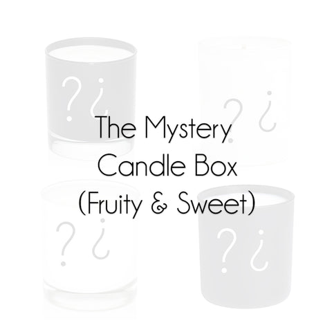 The Mystery Candle Box (Fruity & Sweet)