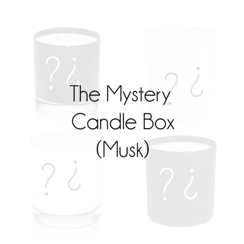 The Mystery Candle Box (Musk)