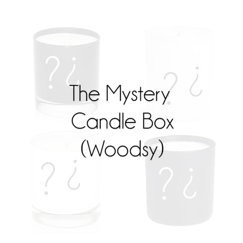 The Mystery Candle Box (Woodsy)
