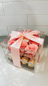 Acrylic Boxes with Chocolate