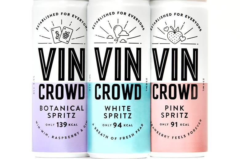 Vin Crowd Wine White Spritz 12x250ml