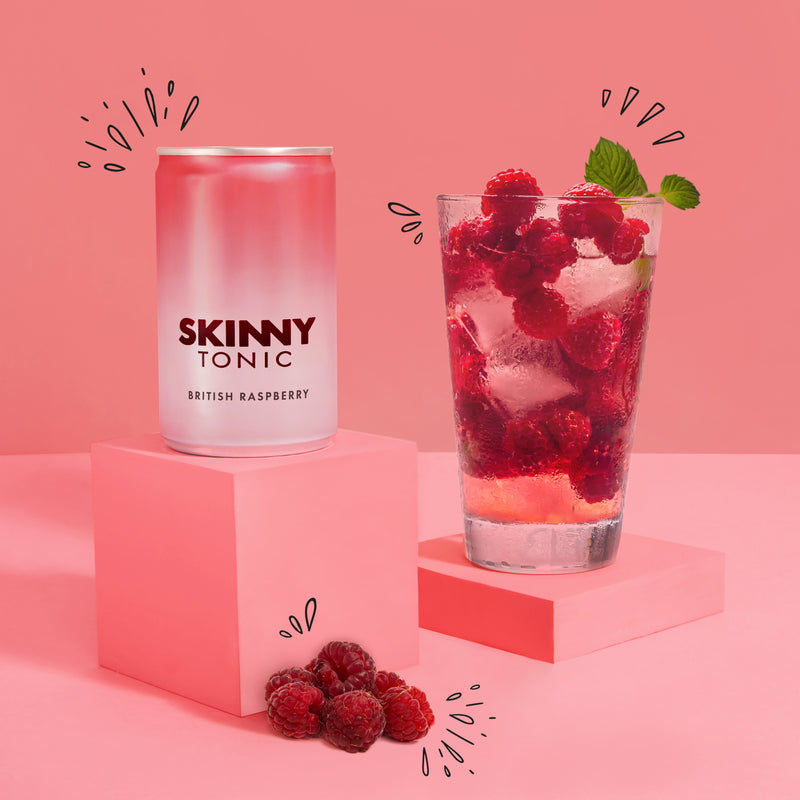 Skinny Tonic - British Raspberry 24 pack