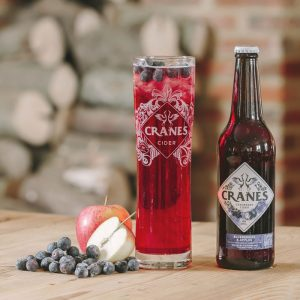 Cranes Cider - Blueberries & Apples (500mlx12)