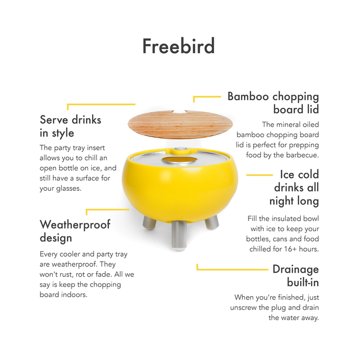 Egg Safari Cooler Table 'FreeBird'