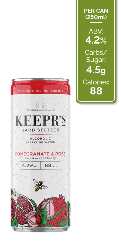 Keepr's Mixed Seltzer Case - 12x250ml
