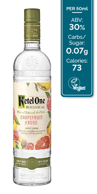 Ketel One Botanicals Grapefruit & Rose