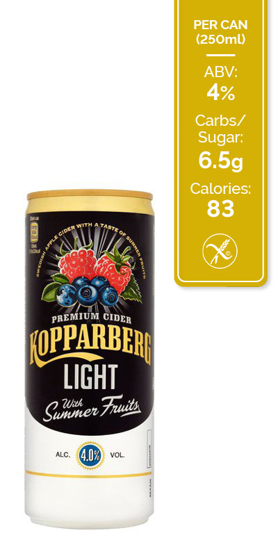 Kopparberg Summer Fruits Light - 12x250ml