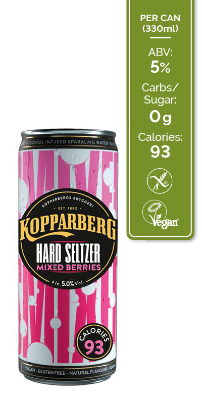 Kopparberg Hard Seltzer Mixed Berry 12x330ml