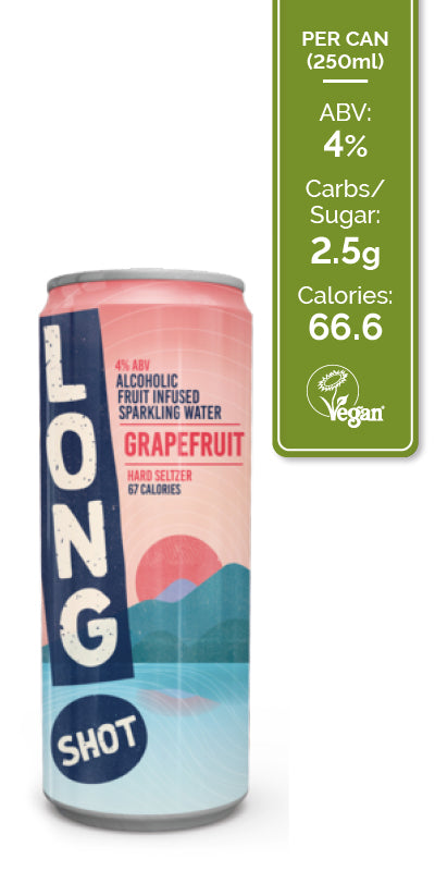 Long Shot Hard Seltzer - Mixed Case 12x250ml