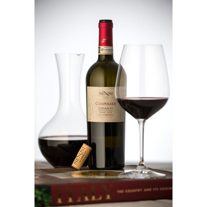 Lower Calorie 'Organic' Red Wine from Campoluce Chianti DOCG - Low Calorie Wine - Low Calorie Alcohol, Calories in Alcohol - Skinny Alcohol - Calories in Wine - SkinnyBooze Ltd