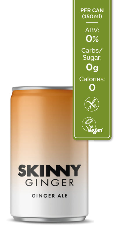 Skinny Tonic - Ginger Ale 24 pack