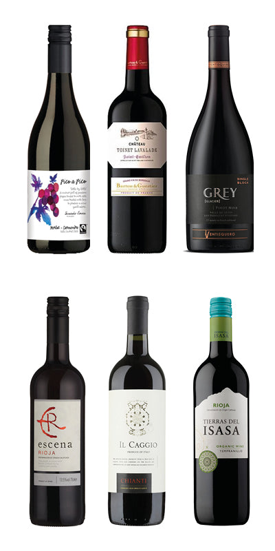 NEW Favourite Red Wines