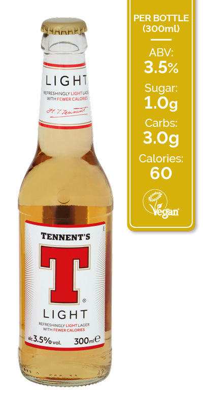Tennents Light Lager