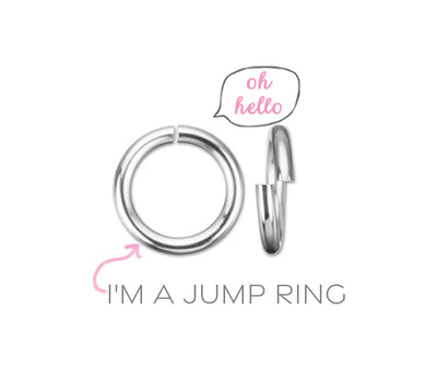 how to open and close a jump ring