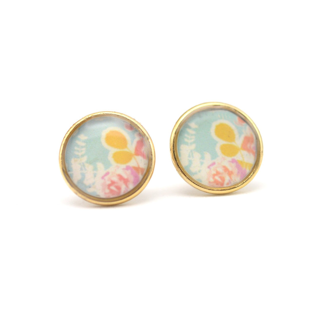 Sweet Floral Stud Earrings