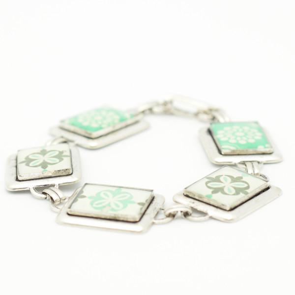 Turquoise Bracelet in Silver