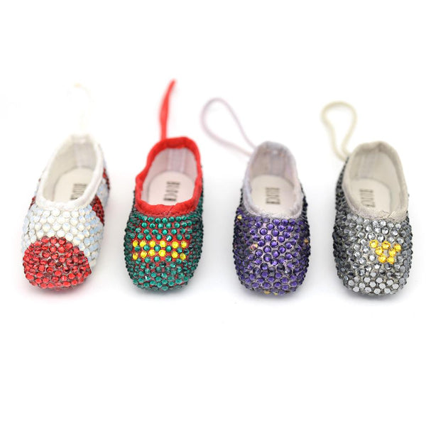 Nutcracker Miniature Pointe Shoe Set of 4