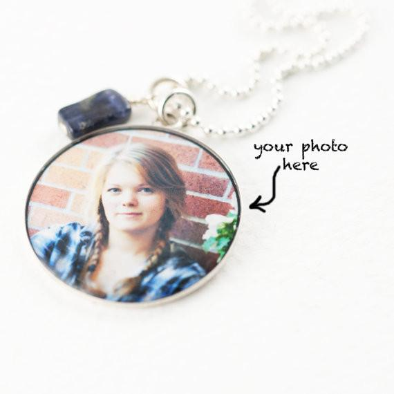 Photo Pendant - Large