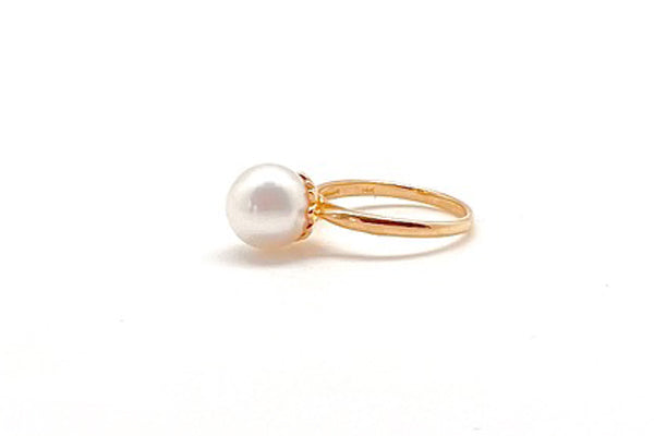 Petite South Sea Cultured Pearl Ring