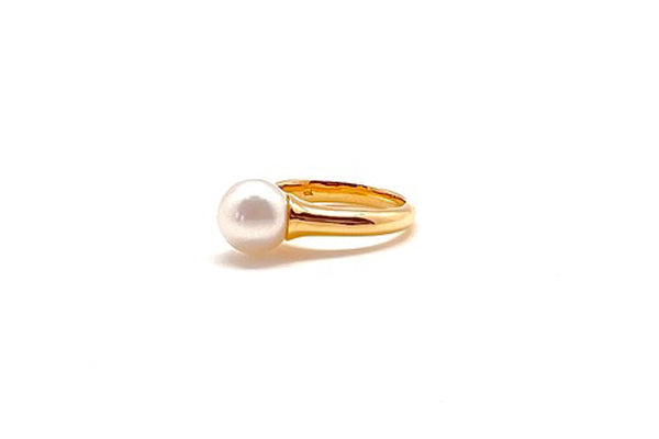 South Sea Cultured Pearl Ring - Assorted Metal Colors