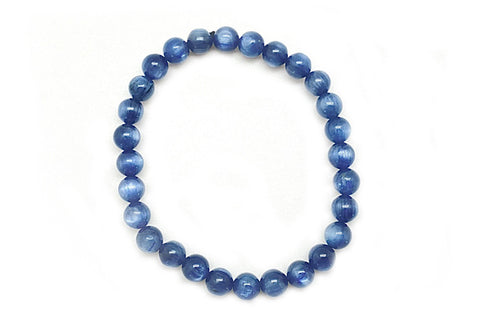 Kyanite Bead Bracelet