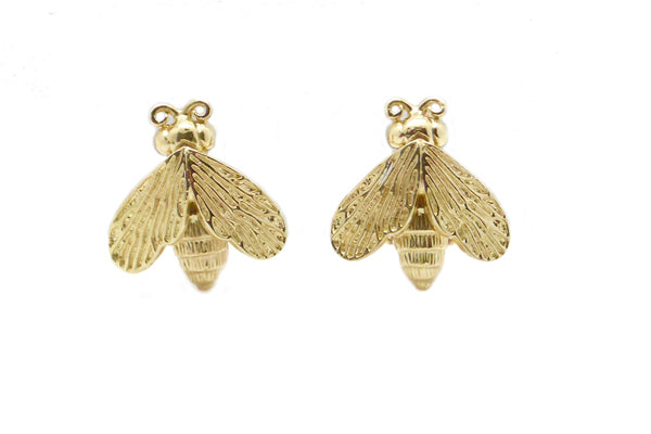 Medium Size Bee Earrings