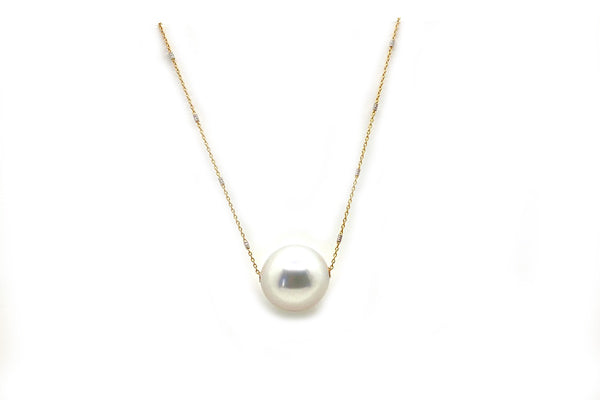 South Sea Cultured Pearl Slider Necklace