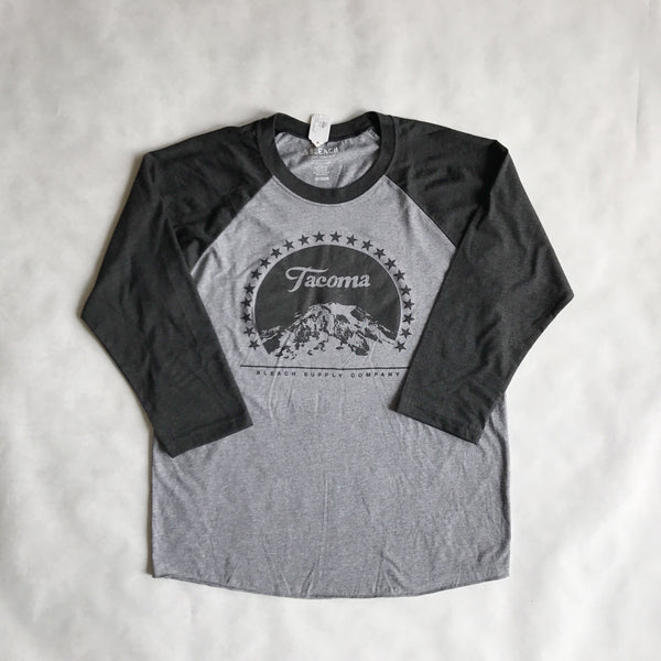 Paramount Baseball Tee | Grey Charcoal